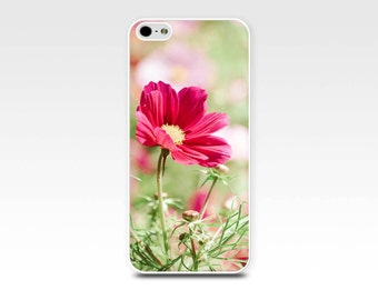floral iphone case 5s iphone 6 case flower iphone case pink magenta iphone 4s case iphone 5 fine art iphone case botanical nature case girly
