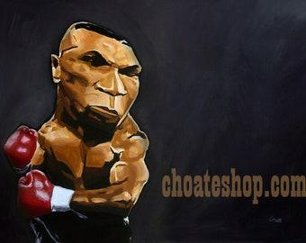 Mike Tyson Original Painting