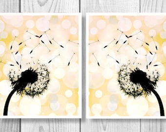 Dandelion Art, Dandelion Wall Art, Dandelion Printable, Dandelion Flower, Dandelion Digital Download, Dandelion Décor, Dandelion Print 0289