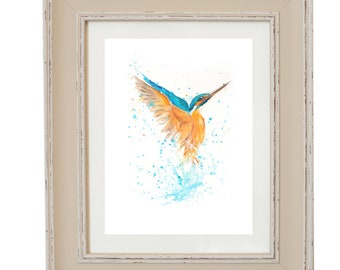 Limited Edition Kingfisher print
