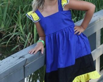 Finding Dory Dress - Dory Dress - Finding Nemo Dress - Girls Dory Dress - Dory Costume - Girls Dory Dress - Girls Dory Costume - Dory
