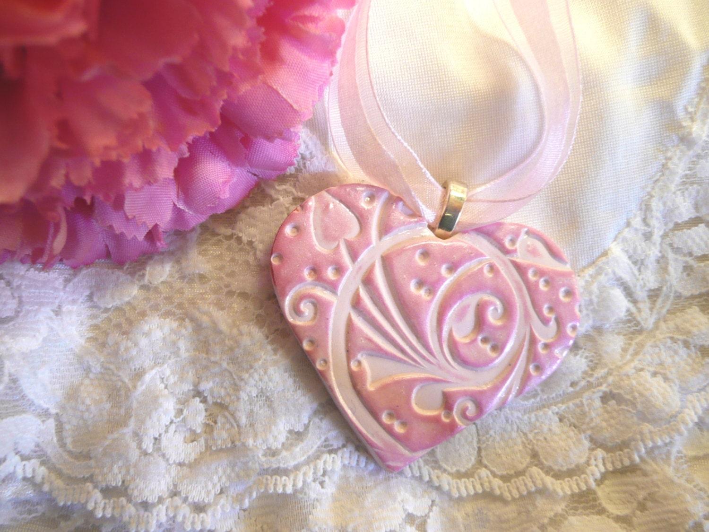 Wedding Bouquet Charm Heart Ornament Elegant Heart Wedding