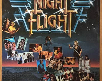 Night Flight Music Show Poster USA Network 1981