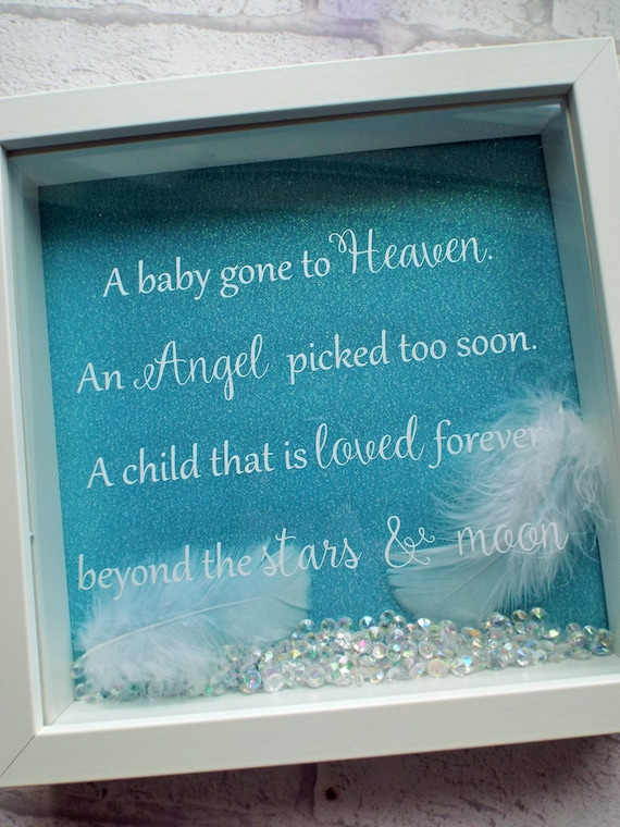 Angel baby Baby loss frame baby memorial gift angel baby