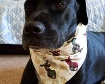 Dog Bandana, Dog Neckwear, Dog Accessories, Deer Bandana, Pet Bandana, Pet Accessories, Pet Neckwear, Breakaway Neckwear, Bandana, Dog Scarf