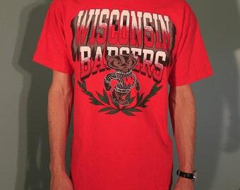 Vintage Wisconsin Badgers T-Shirt