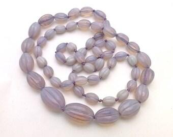Opaline/Vaseline Deco  Glass Beads