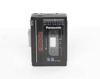 vintage 80s sony style WALKMAN tape deck player WORKS great