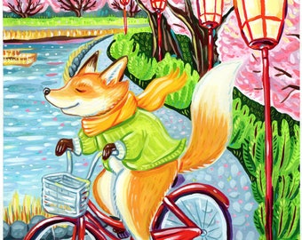 Cherry Blossom Bike Ride