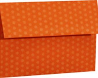 15 Orange Crush A-7 5X7 Envelope 5-1/4 x 7-1/4 Envelope