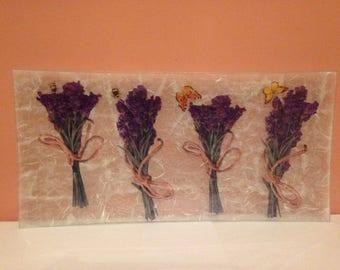 Plate of glass, plate decorative, Home decor.