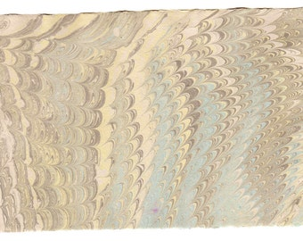 "Hand Made Hand Marbled Cotton Paper 5.5 x 8.5""  HMP.5-6"