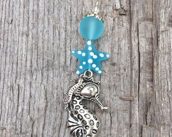 SEAHORSE Christmas Ornaments | Ocean Christmas Ornament| Seahorse | Baubles and By Gones