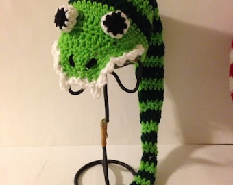 Silly Snake Crochet Hat Pattern