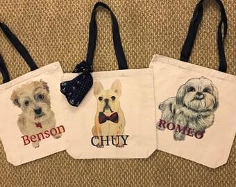 Custom Pet Tote Bag