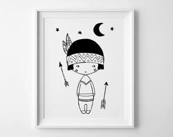 Nursery poster, wall art, Scandinavian design, nursery decor, affiche scandinave, best selling item kids room decor nursery print top seller