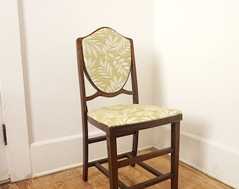 Vintage Folding Chair Recovered Fort Massac Furniture
