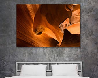 Fine art landscape photography - Antelope Canyon Tumbleweed - original home decor wall art