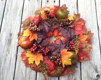 Fall Harvest Floral Centerpiece