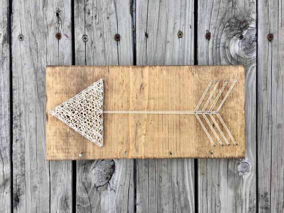 Arrow String Art Arrow Gifts Nail And String Art Farmhouse
