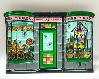 HPinstreet HONEYDUKES soft enamel lapel PIN / Hogsmeade Harry Potter Magic Candy Jelly Beans Pumpkin Hogwarts / BUNCEandBEAN