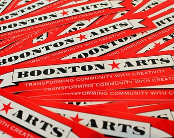 Boonton Arts Sticker
