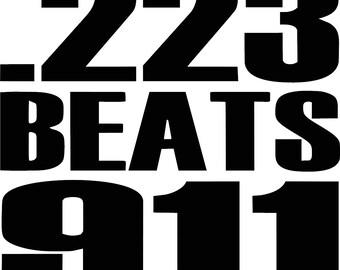 223 Beats 911