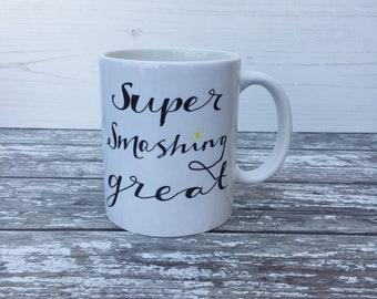 Ceramic Positivity Mugs