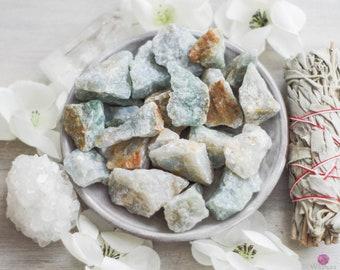 Blue Quartz - Calming Stone - Healing Stones - Rough Stones - Intention Gemstones - Crystals - Meditation Stones - Raw Stones - Loose Stones