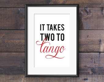 Two To Tango Graphic