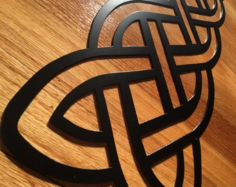 Celtic Knot Pointed Banner