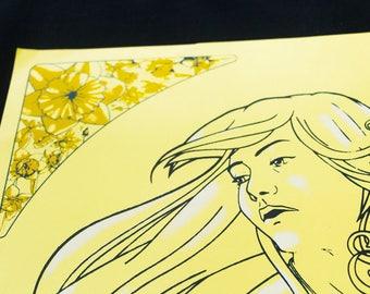"Silkscreen Print, ""Pride"""