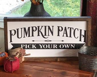 Rustic Fall Decor - Fall Sign - Harvest Sign - Wood Sign - Pumpkin - Farmhouse Decor - Fall Decor - Harvest Decor - Autumn Decor - Autumn
