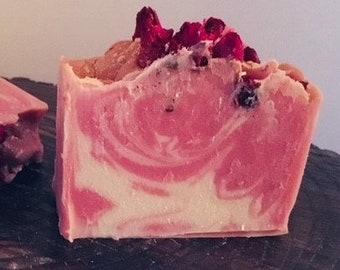 Rosé all day cold process soap
