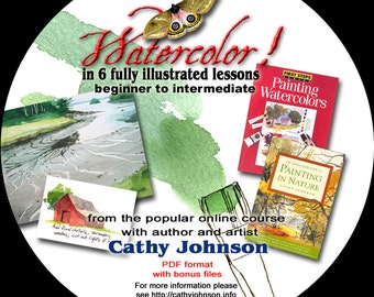 Cathy Johnson's Watercolor Workshop CD