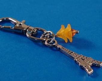 Eiffel Tower Bag Chain, Paris Eiffel Tower Purse Chain, Silver Bag Chain