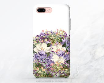 iPhone X Case iPhone 8 Case iPhone 7 Case Vintage Floral iPhone 7 Plus Case iPhone SE Case Tough Samsung S8 Plus Case Galaxy S8 Case I26
