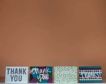 Thank You Card Pack - Thank You Card - Thanks Card - Pack of Cards