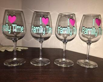 Custom Wine Glasses or Beer Glasses