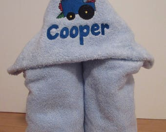 Personalized Children's Hooded Bath Towel... children's gifts, baby gifts,
