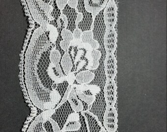 White Lace Trim 2-1/2""