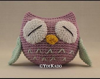 Owl crochet amigurumi Ydekado