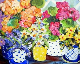 Original Painting 20 x 30 Canvas art  Art by Elaine Cory