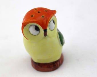 Owl Salt or Pepper Shaker - Vintage Salt and Pepper Shaker - Made in Germany - Bird Figurine - Animal - Vintage Kitchen Decor Collectible