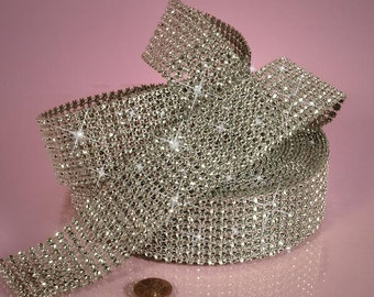 Glam Bling Ribbon By the yard