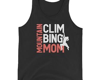 ready mountain climbing mom