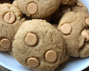 24 Soft Peanut Butter Cookies