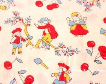FABRIC STORYBOOK AMERICANA Patriotic George Washington Chopping down the Cherry Tree   We combine shipping