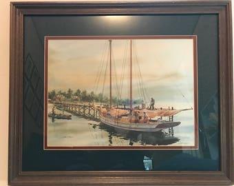Artist Jim Gray Limited Edition signed art print