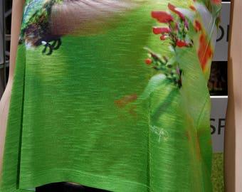 Hummingbird Ladies Shirt Hi Lo
